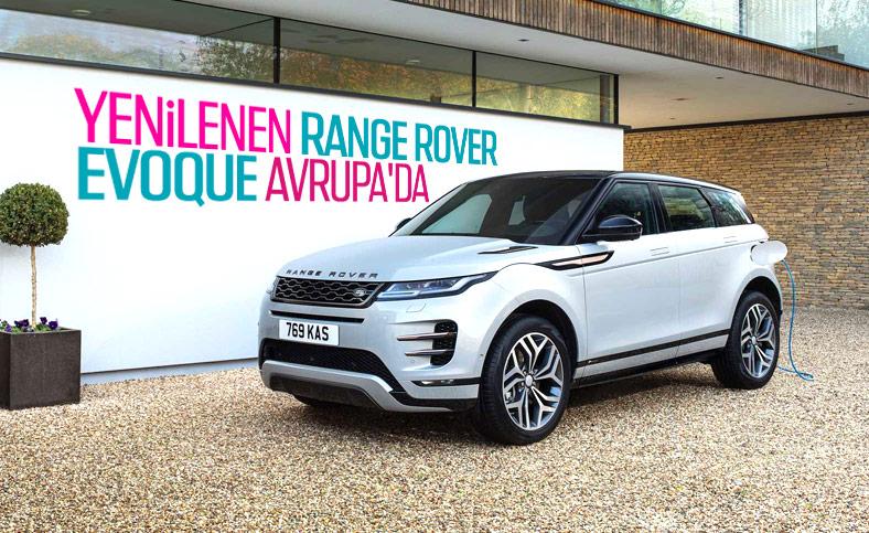 Range Rover Evoque, dizel hibrit motor seçeneği ile Avrupa'ya geldi