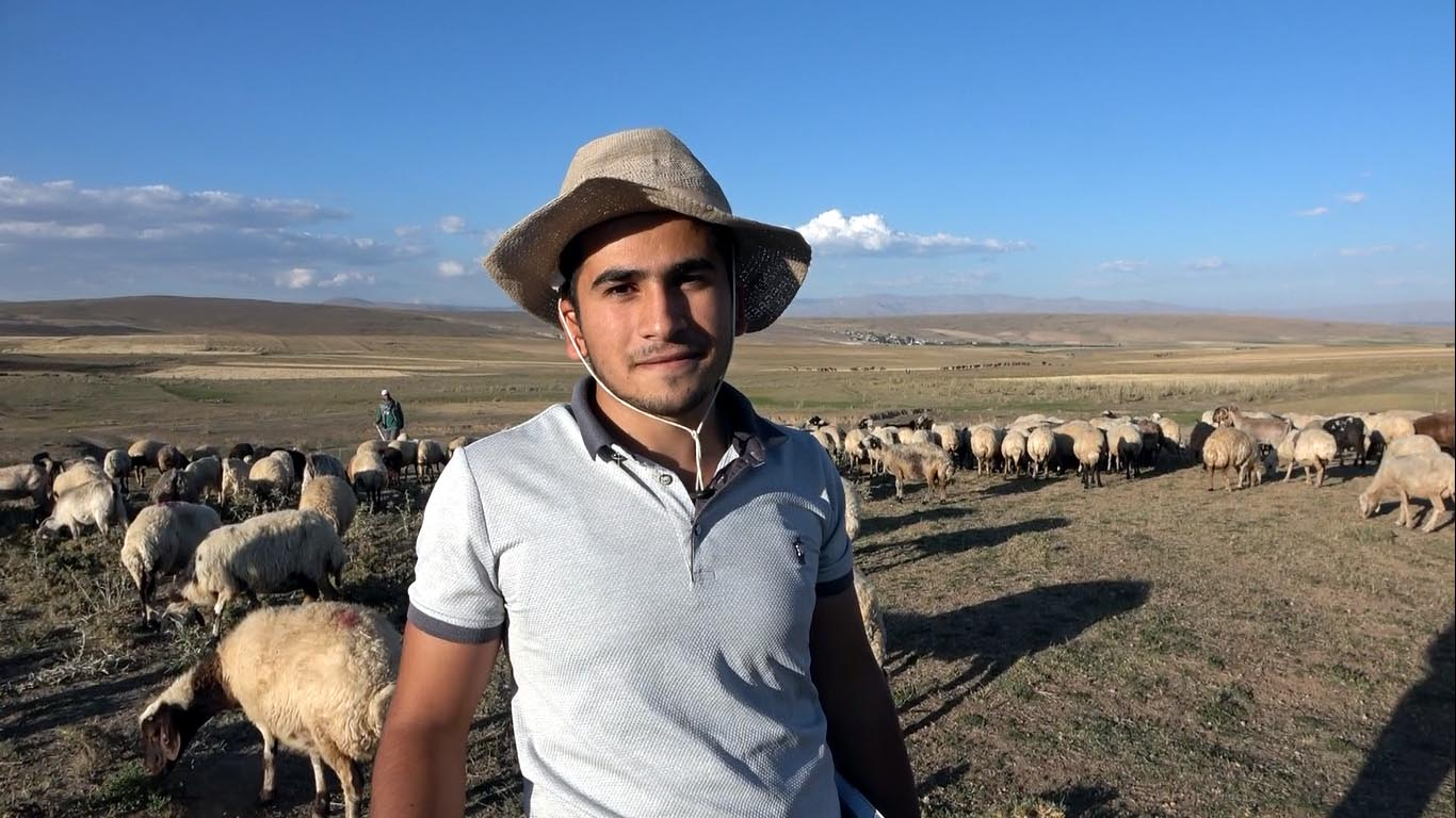 Çobanlık yaparken üniversiteye hazırlanan Vanlı Muhammet, tıp fakültesini kazandı #1