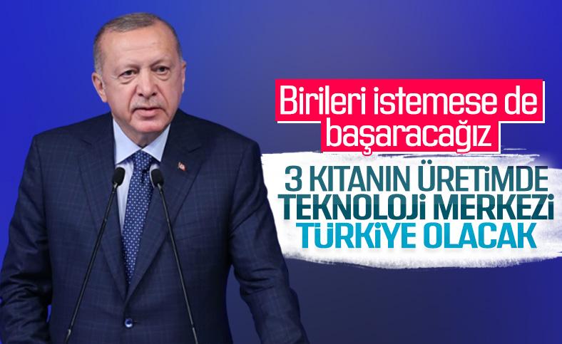 Cumhurbaşkanı Erdoğan, Teknoloji Merkezi açılışında
