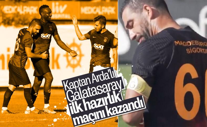 Arda sahaya kaptan çıktı, Galatasaray kazandı