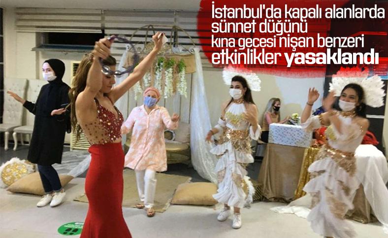 İstanbul'da toplu etkinliklere kısıtlama getirildi