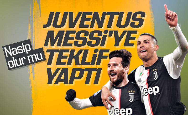 Juventus'ta hedef: Lionel Messi