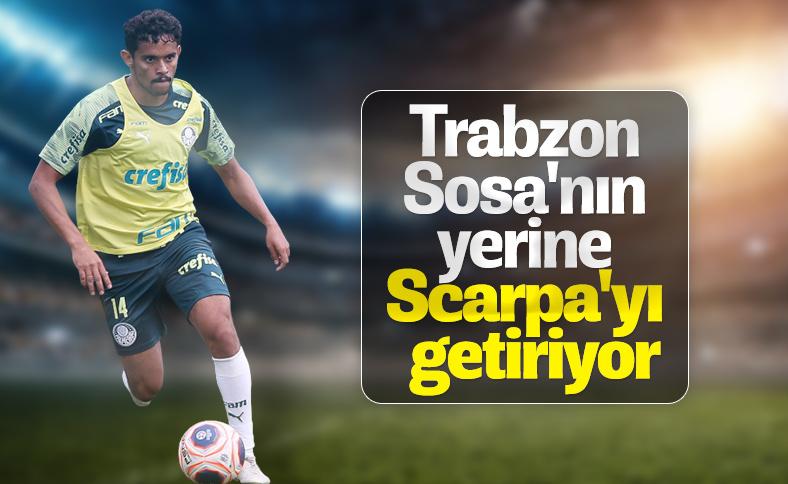 Trabzonspor'da gündemde Scarpa var