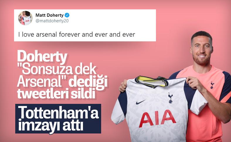 Matt Doherty Tottenham'da