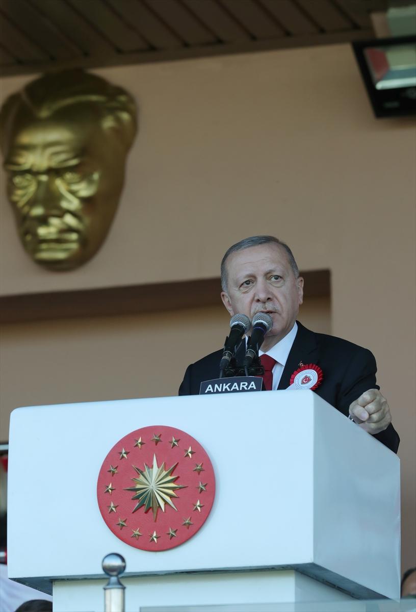Cumhurbaşkanı Erdoğan: Maruz kaldığımız her saldırı mücadelemizi perçinledi  #1