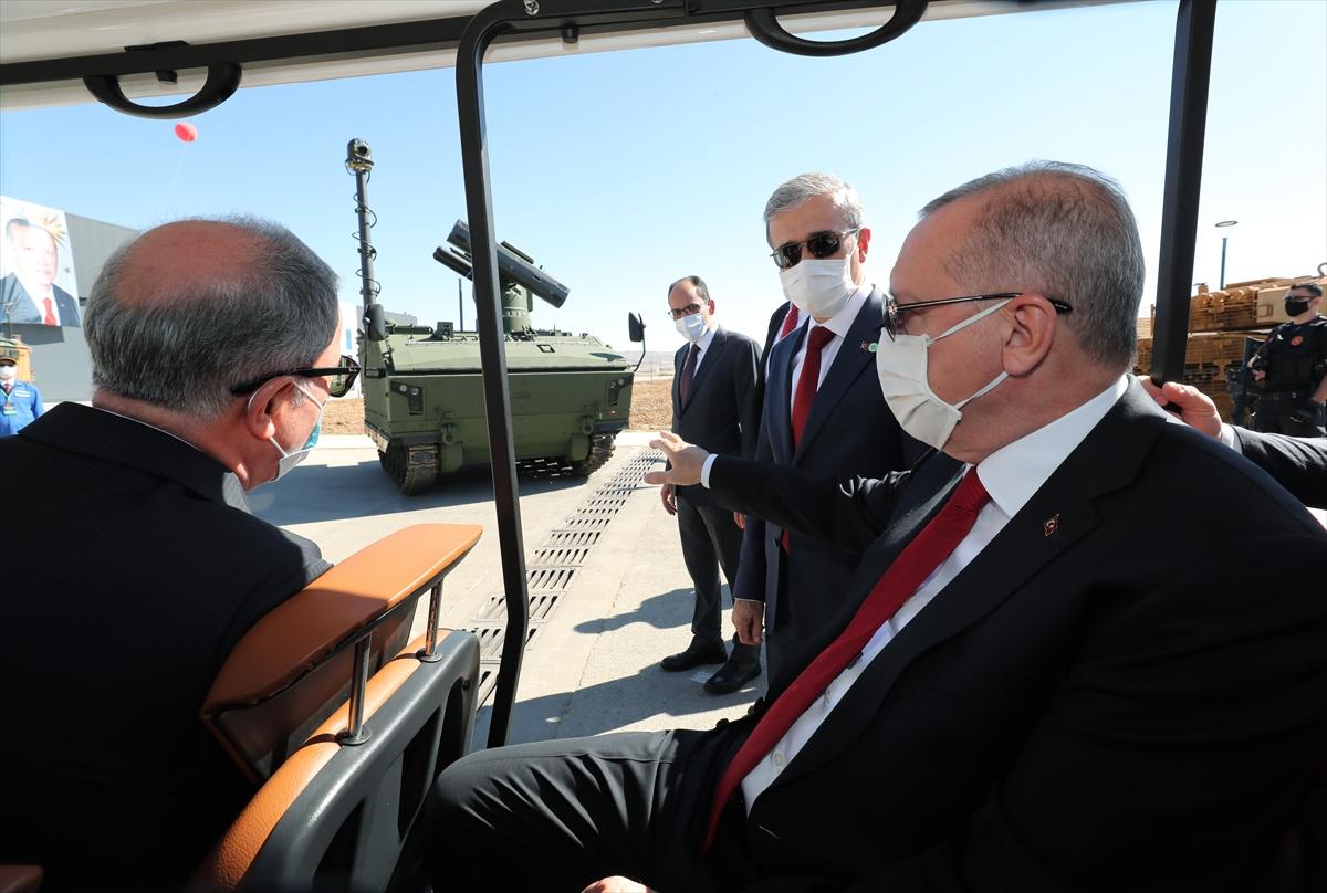 Cumhurbaşkanı Erdoğan Roketsan da: Artık uzay ligindeyiz #2