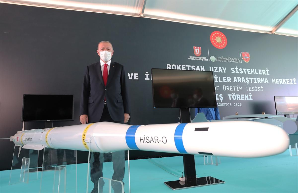 Cumhurbaşkanı Erdoğan Roketsan da: Artık uzay ligindeyiz #8