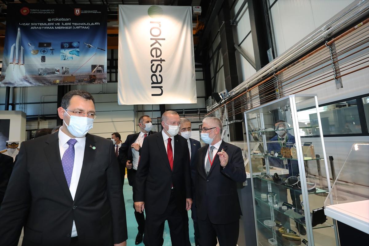 Cumhurbaşkanı Erdoğan Roketsan da: Artık uzay ligindeyiz #18