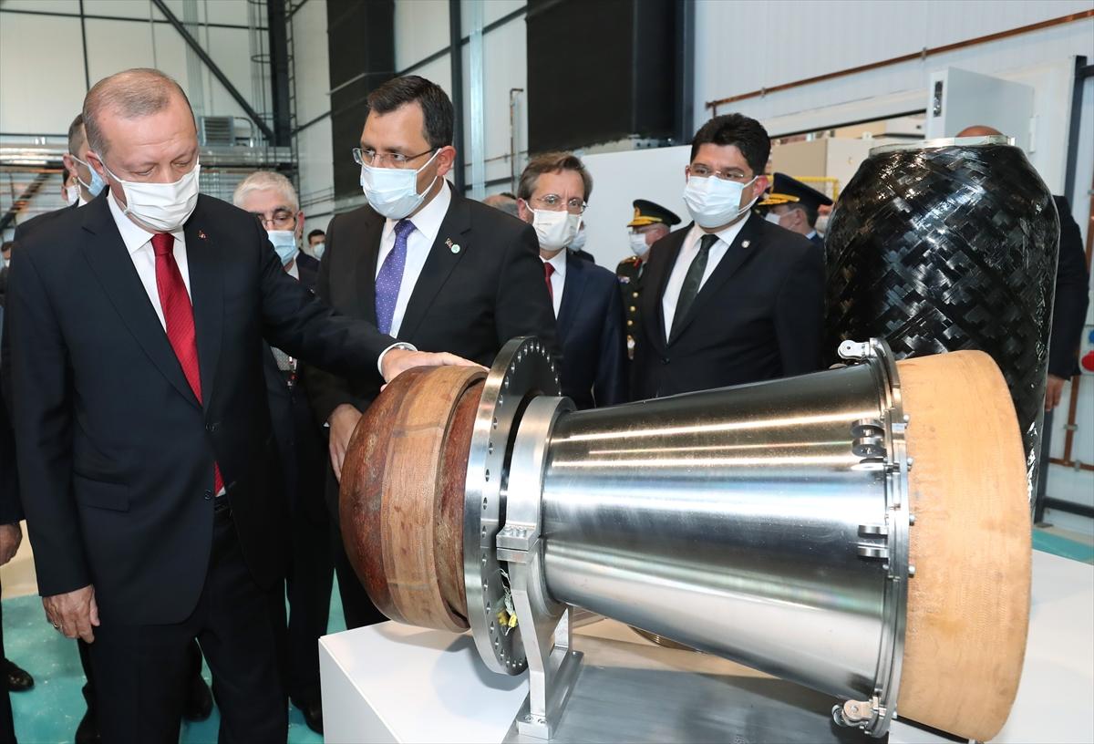 Cumhurbaşkanı Erdoğan Roketsan da: Artık uzay ligindeyiz #13