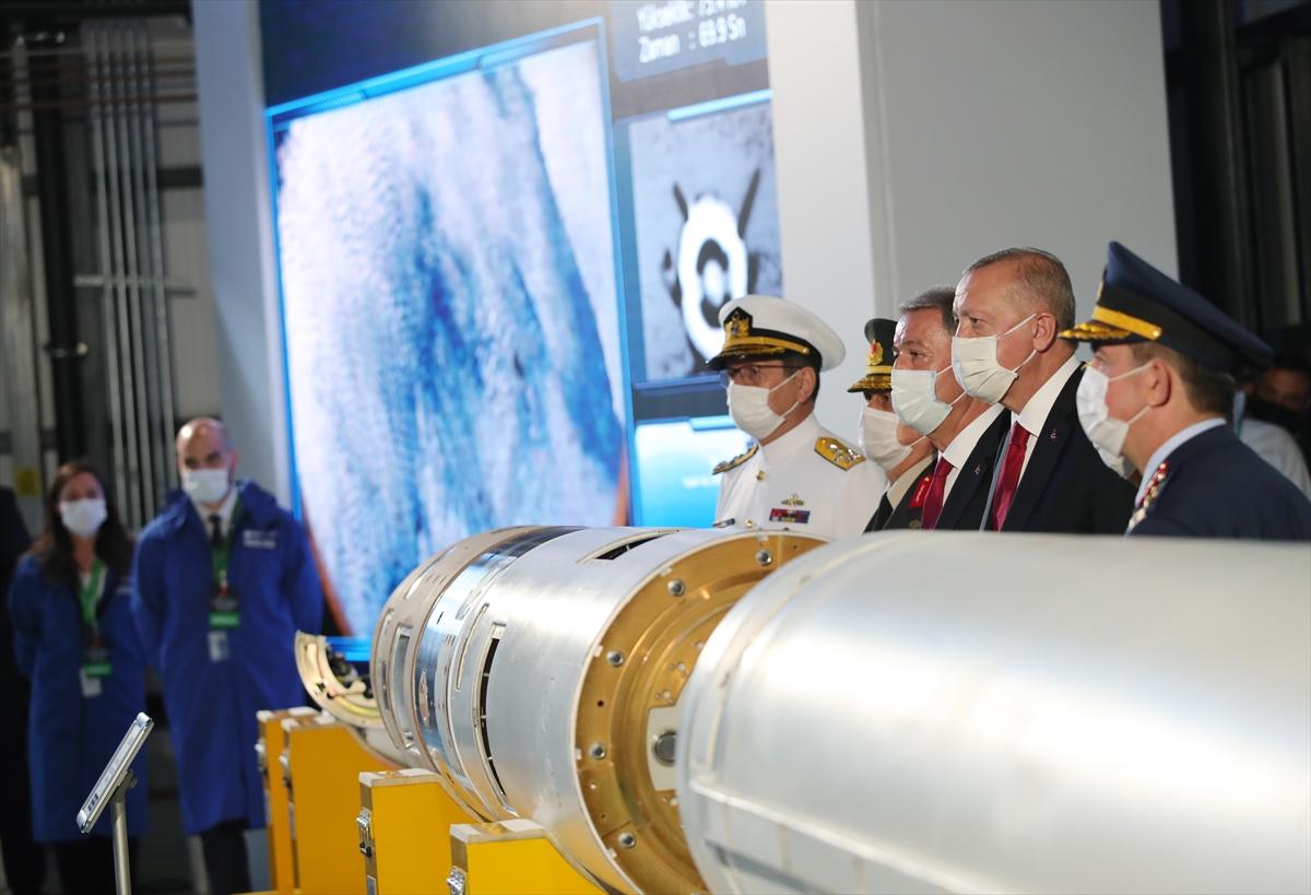Cumhurbaşkanı Erdoğan Roketsan da: Artık uzay ligindeyiz #24