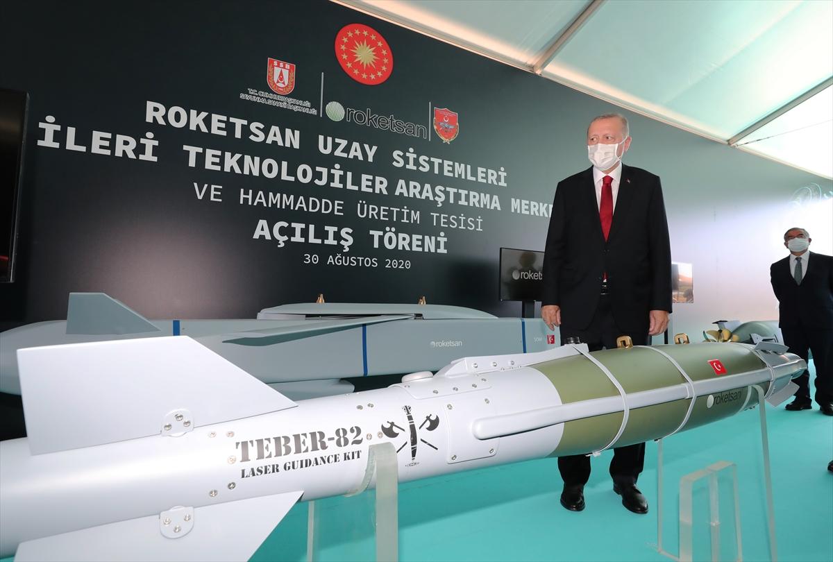 Cumhurbaşkanı Erdoğan Roketsan da: Artık uzay ligindeyiz #7