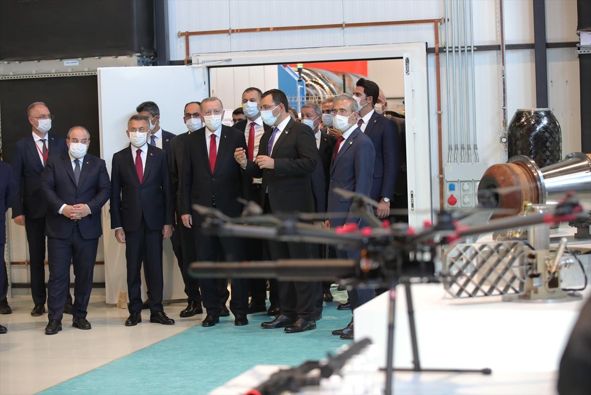 Cumhurbaşkanı Erdoğan Roketsan da: Artık uzay ligindeyiz #23