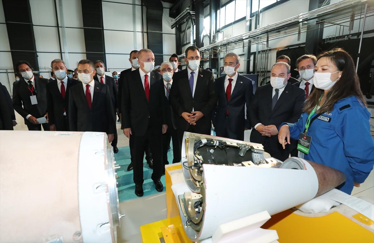 Cumhurbaşkanı Erdoğan Roketsan da: Artık uzay ligindeyiz #15
