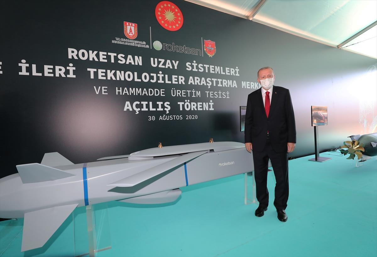 Cumhurbaşkanı Erdoğan Roketsan da: Artık uzay ligindeyiz #6