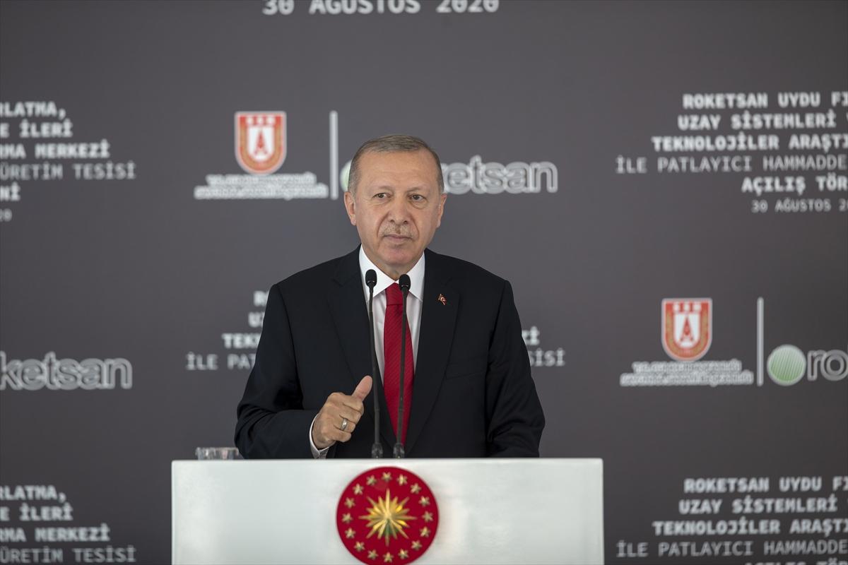 Cumhurbaşkanı Erdoğan Roketsan da: Artık uzay ligindeyiz #1