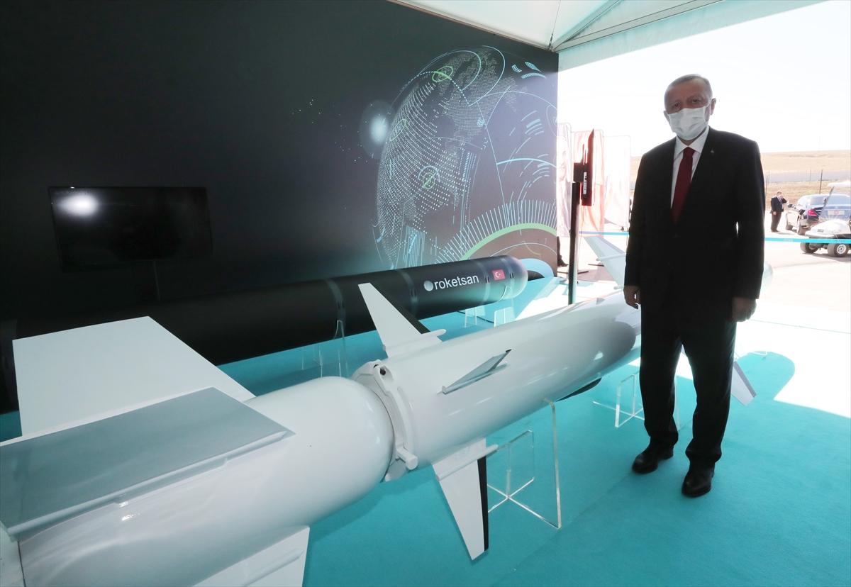 Cumhurbaşkanı Erdoğan Roketsan da: Artık uzay ligindeyiz #5