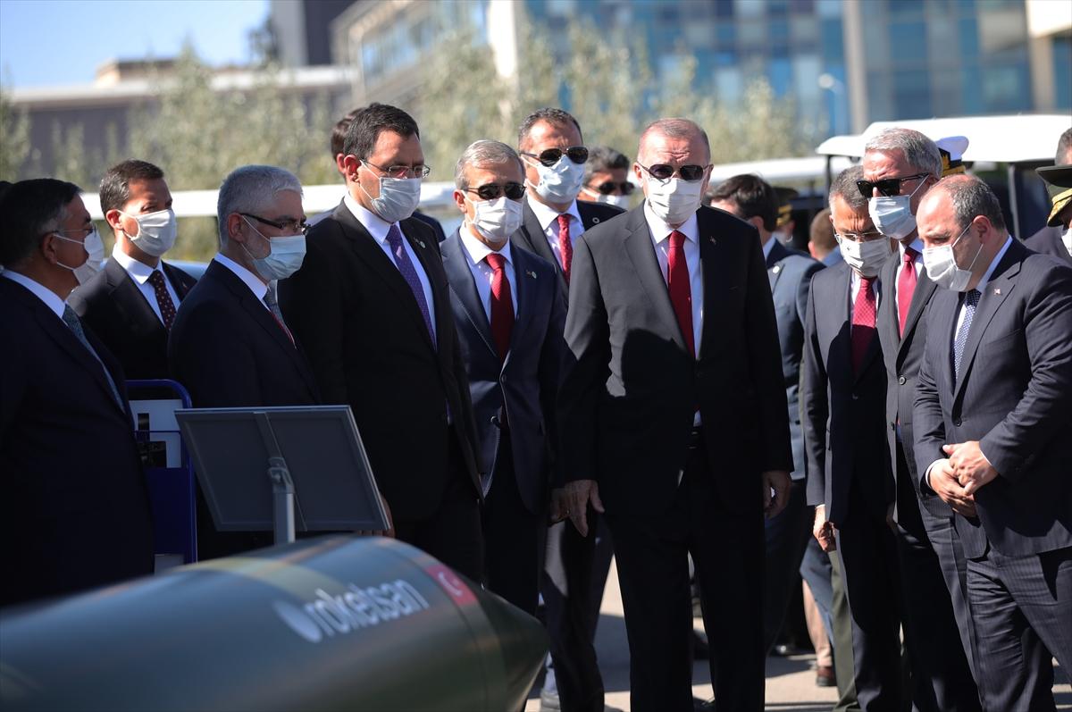 Cumhurbaşkanı Erdoğan Roketsan da: Artık uzay ligindeyiz #19
