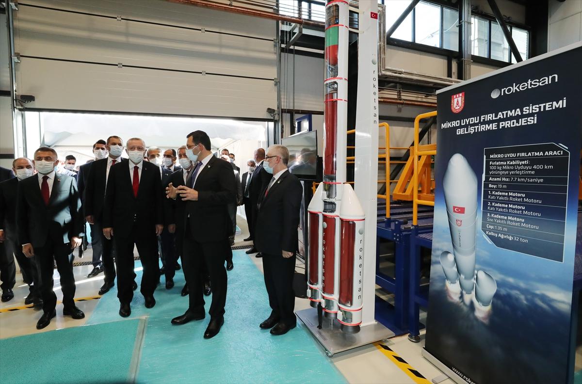 Cumhurbaşkanı Erdoğan Roketsan da: Artık uzay ligindeyiz #12
