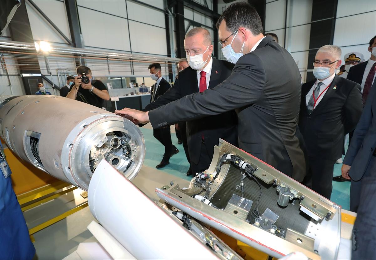 Cumhurbaşkanı Erdoğan Roketsan da: Artık uzay ligindeyiz #16
