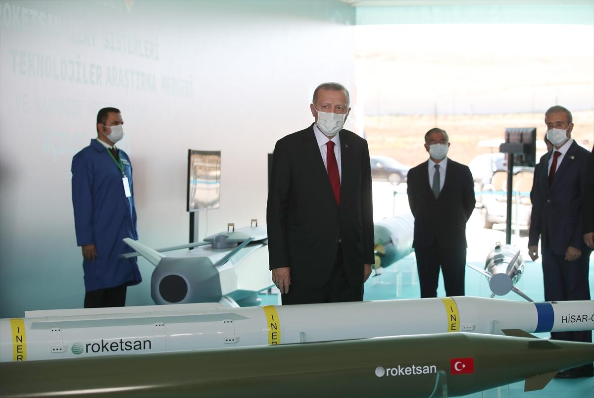 Cumhurbaşkanı Erdoğan Roketsan da: Artık uzay ligindeyiz #22