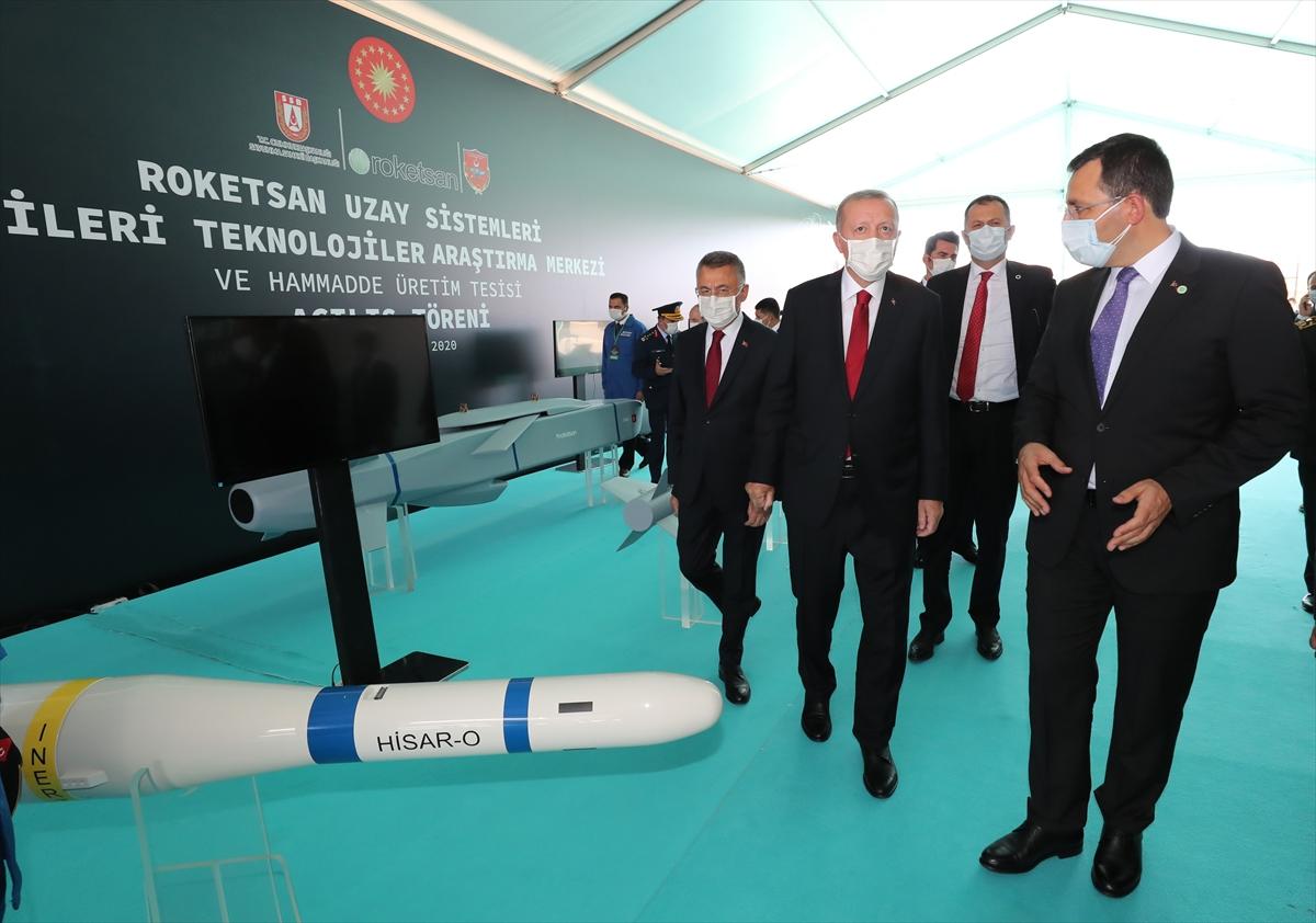 Cumhurbaşkanı Erdoğan Roketsan da: Artık uzay ligindeyiz #10