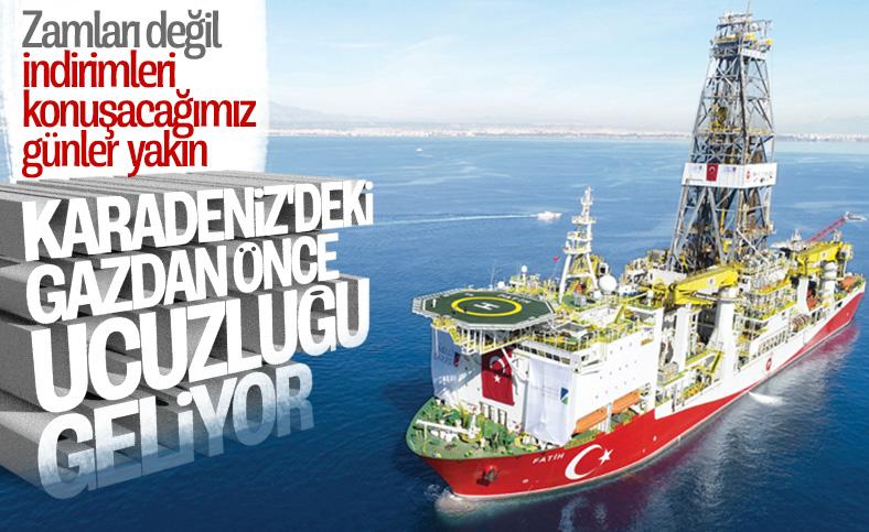 Karadeniz'de bulunan rezerv doğalgazda ucuzluğu getirecek