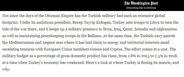 Washington Post ta yayınlanan Türkiye analizi #2