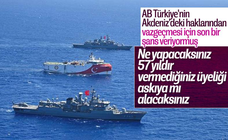 AB sözcüsü Türkiye'ye yaptırım tehdidinde bulundu