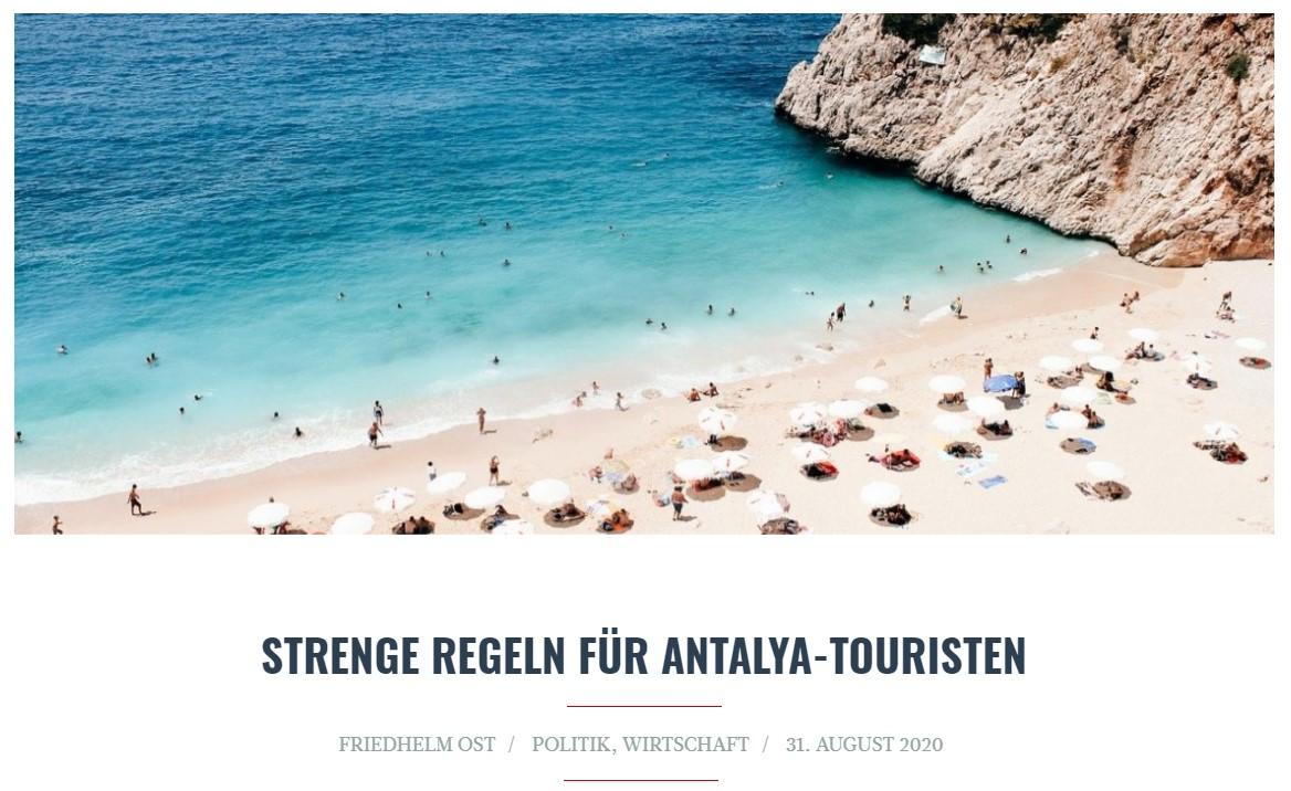 Alman siyasetçi Türkiye'nin turizm önlemlerine övgü yağdırdı #2
