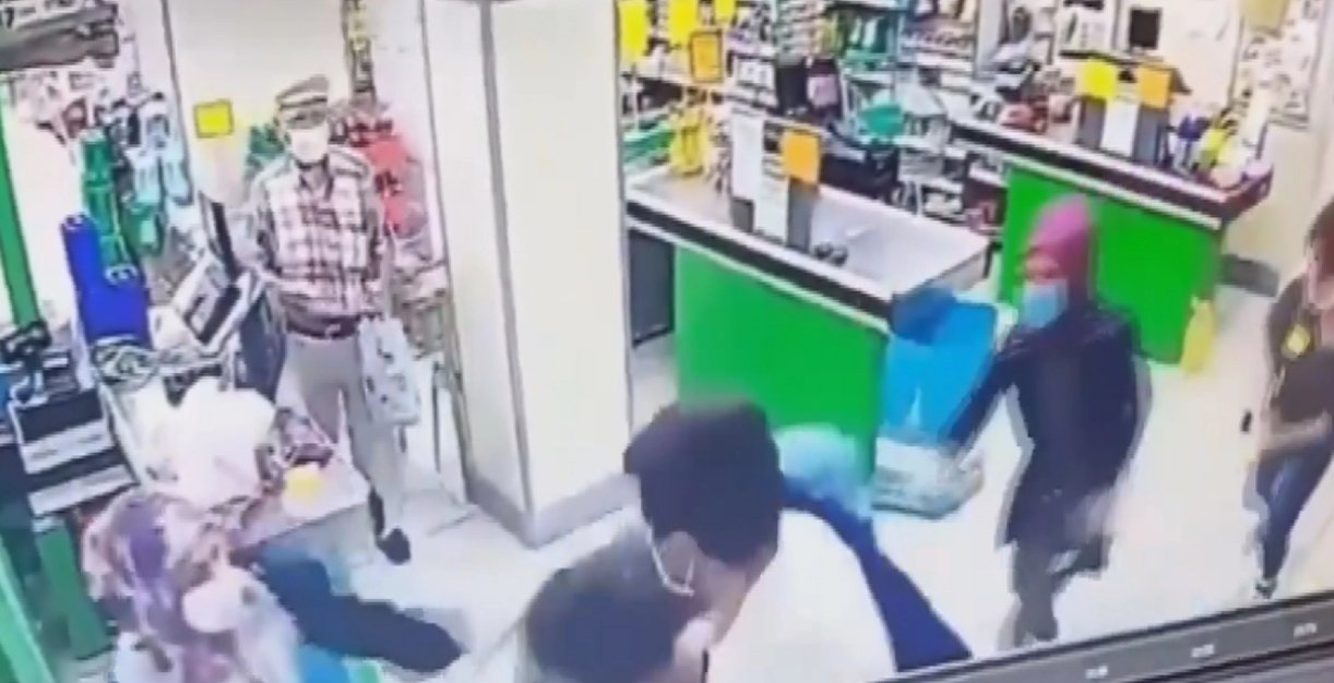 Sancaktepe de market çalışanına saldıran şahıs serbest kaldı #1