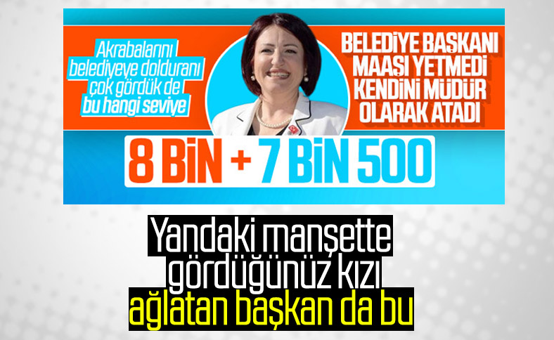 İzmir'de ağaç katliamı yaptıran CHP'li başkan: İlkay Girgin Erdoğan