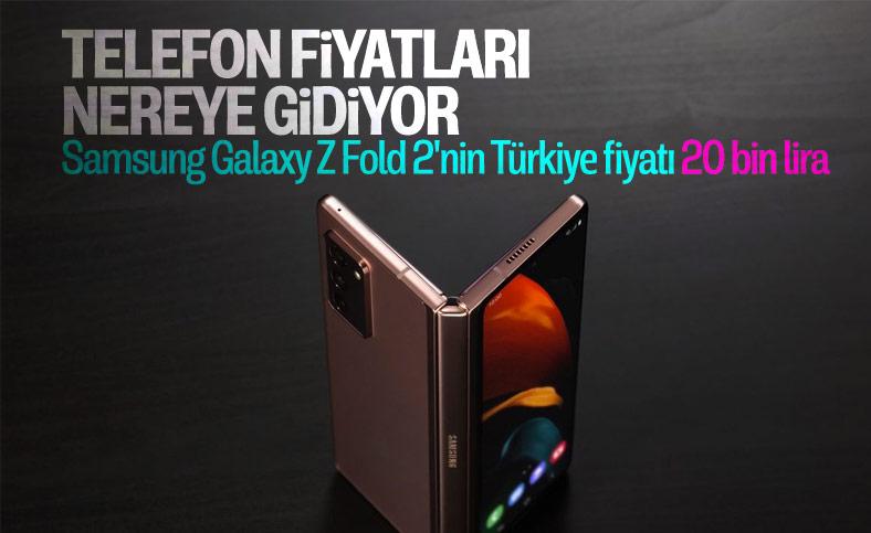 Samsung'un katlanabilir telefonu Galaxy Z Fold 2'nin Türkiye fiyatı belli oldu