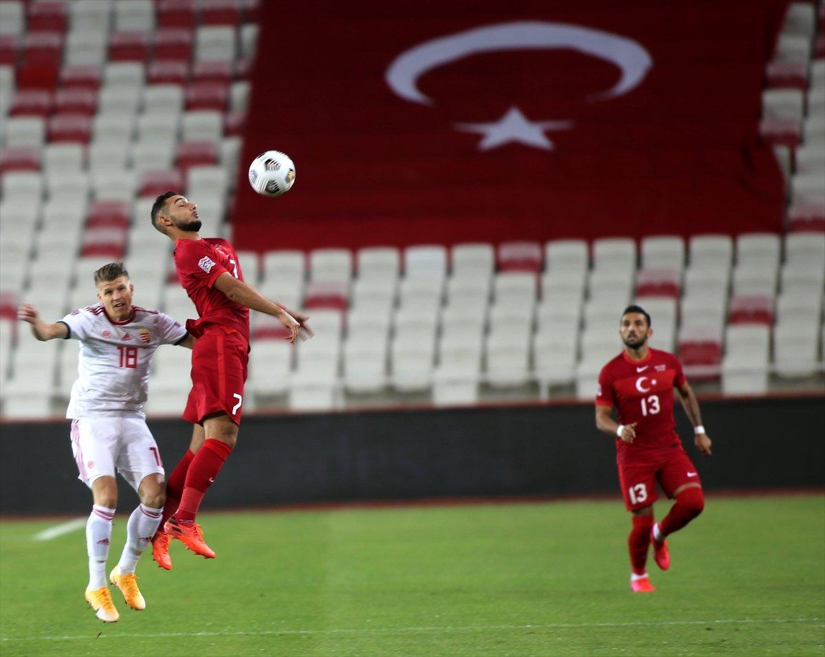 Türkiye, UEFA Uluslar Ligi ilk maçında Macaristan a yenildi #2