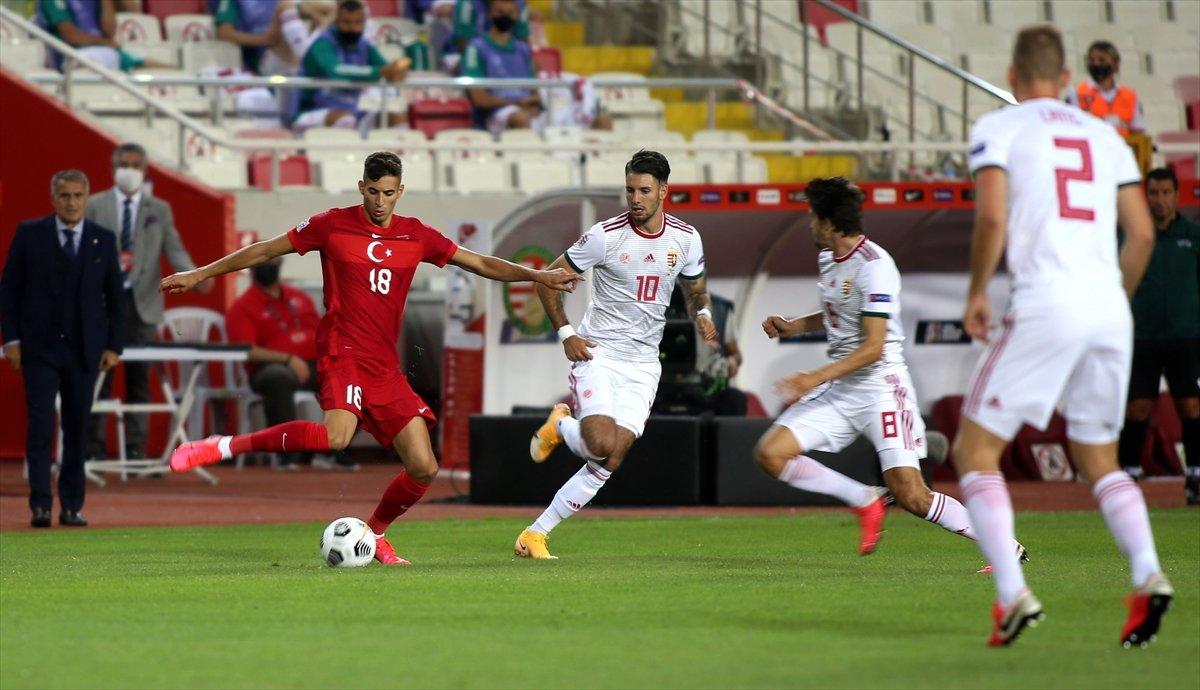 Türkiye, UEFA Uluslar Ligi ilk maçında Macaristan a yenildi #3