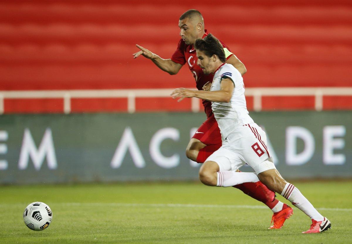 Türkiye, UEFA Uluslar Ligi ilk maçında Macaristan a yenildi #4