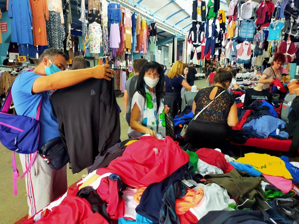 Edirne de Bulgar turistlerin akın ettiği pazar kapatıldı #5