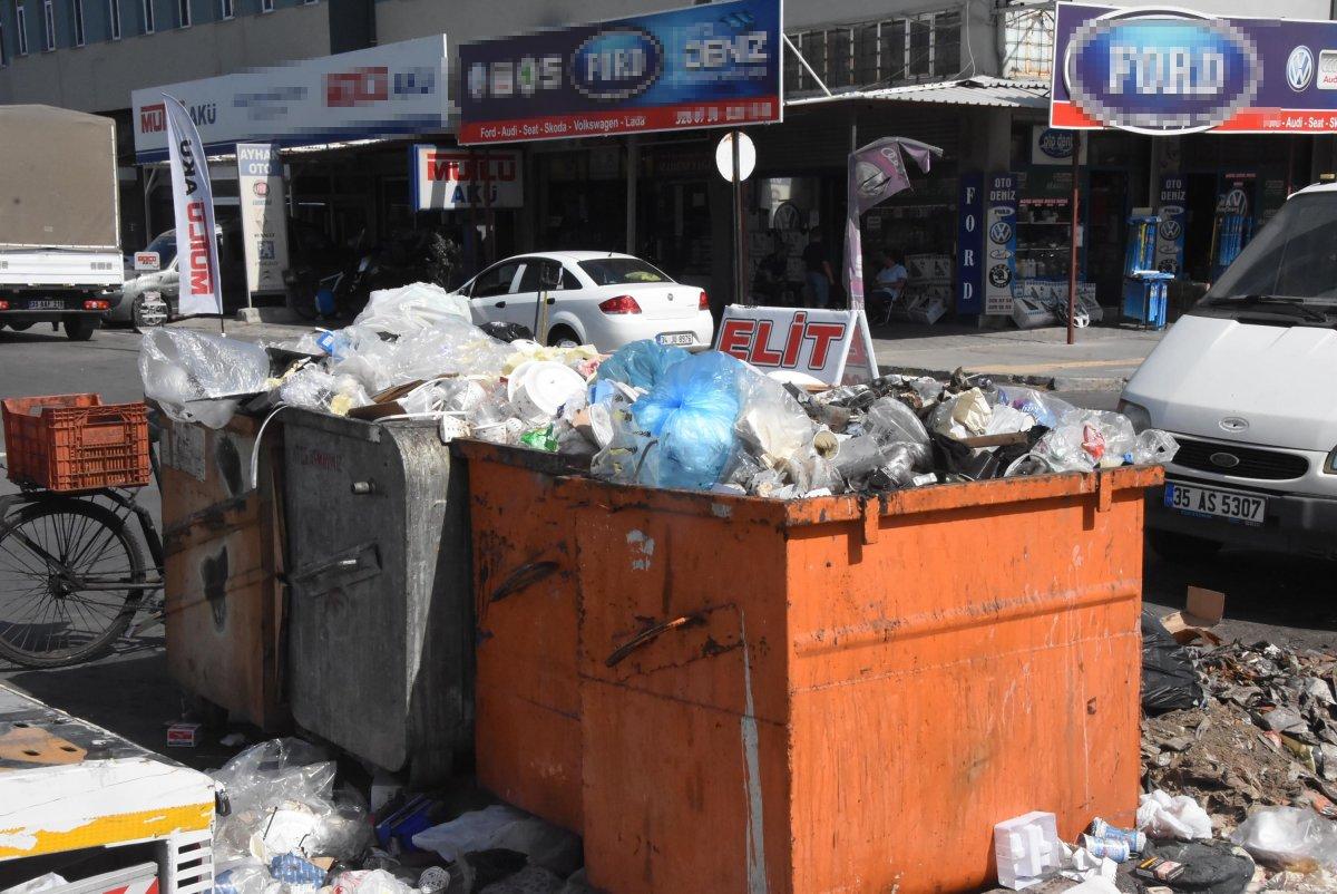 Çöplerin toplanmadığı Çiğli'de esnaf fare kovaladı  #3