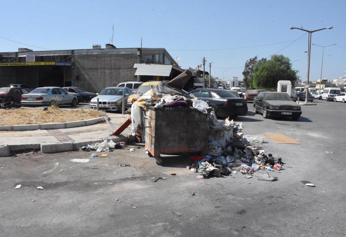 Çöplerin toplanmadığı Çiğli'de esnaf fare kovaladı  #4