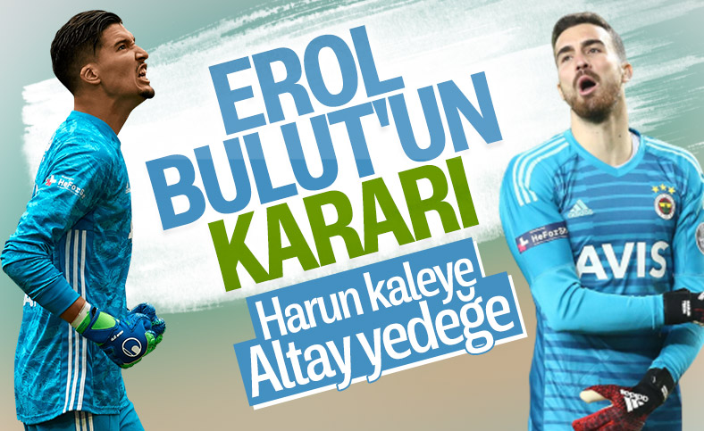 Fenerbahçe'de Harun Tekin kaleyi devralıyor