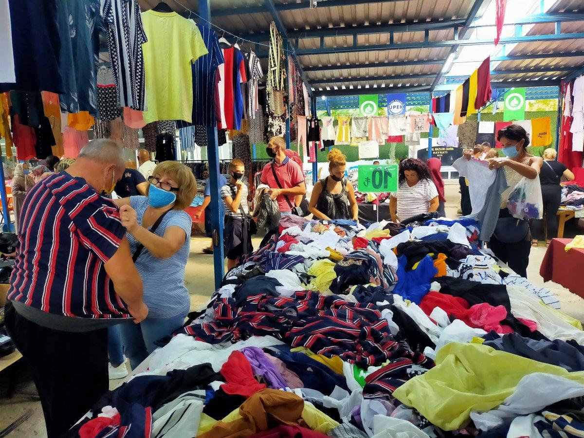 Edirne de Bulgar turistlerin akın ettiği pazar kapatıldı #2