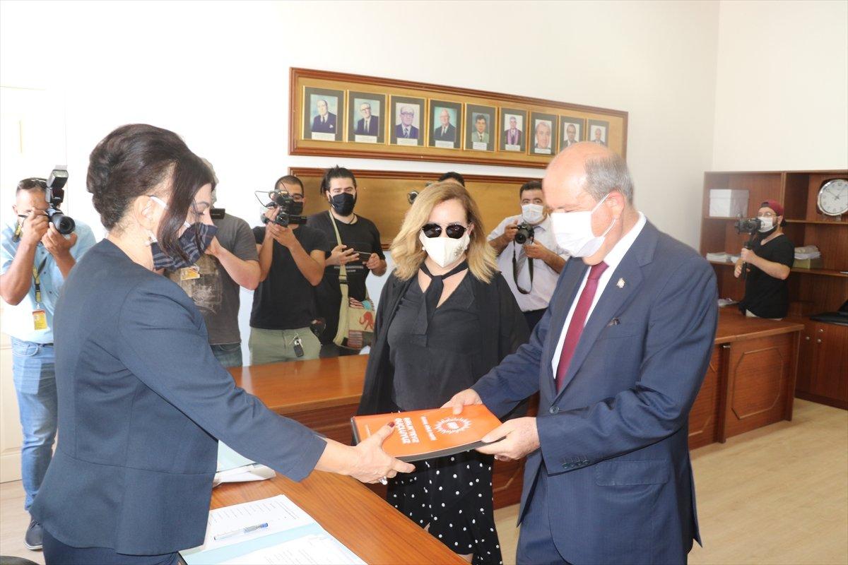 KKTC de Başbakan Ersin Tatar, cumhurbaşkanlığı adaylık başvurusunu yaptı #1