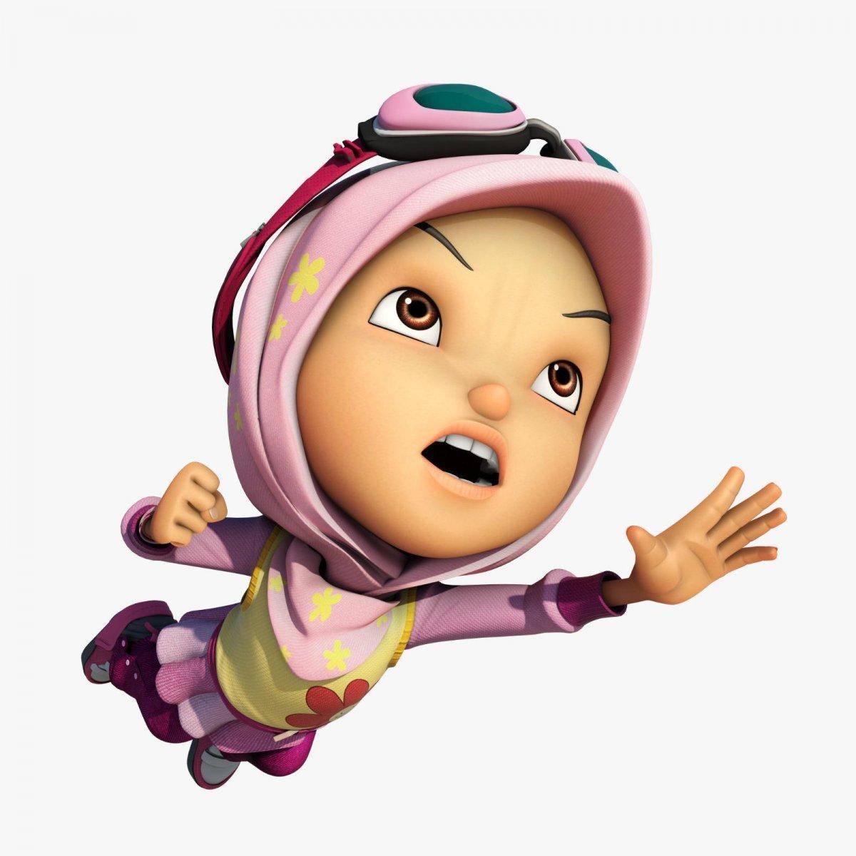 Animasyon dünyasının ilk başörtülü süper kahramanı Yaya, BoBoiBoy ile sinemalarda #3