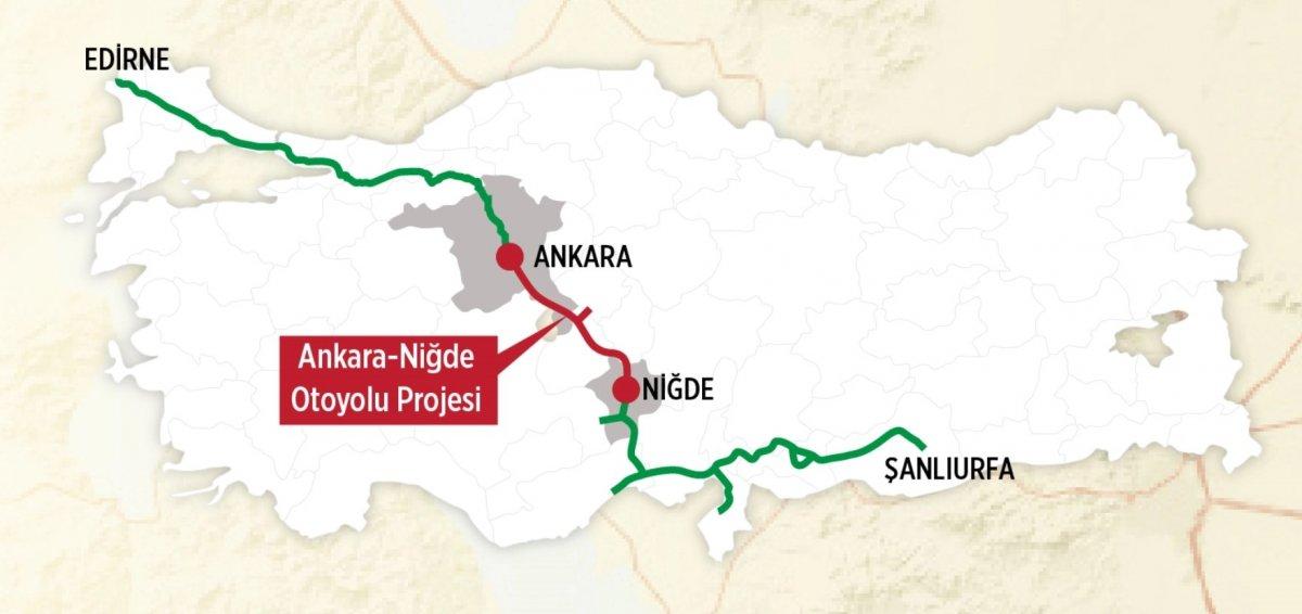 Şanlıurfa dan Edirne ye kadar kesintisiz ulaşım sağlacanak #2