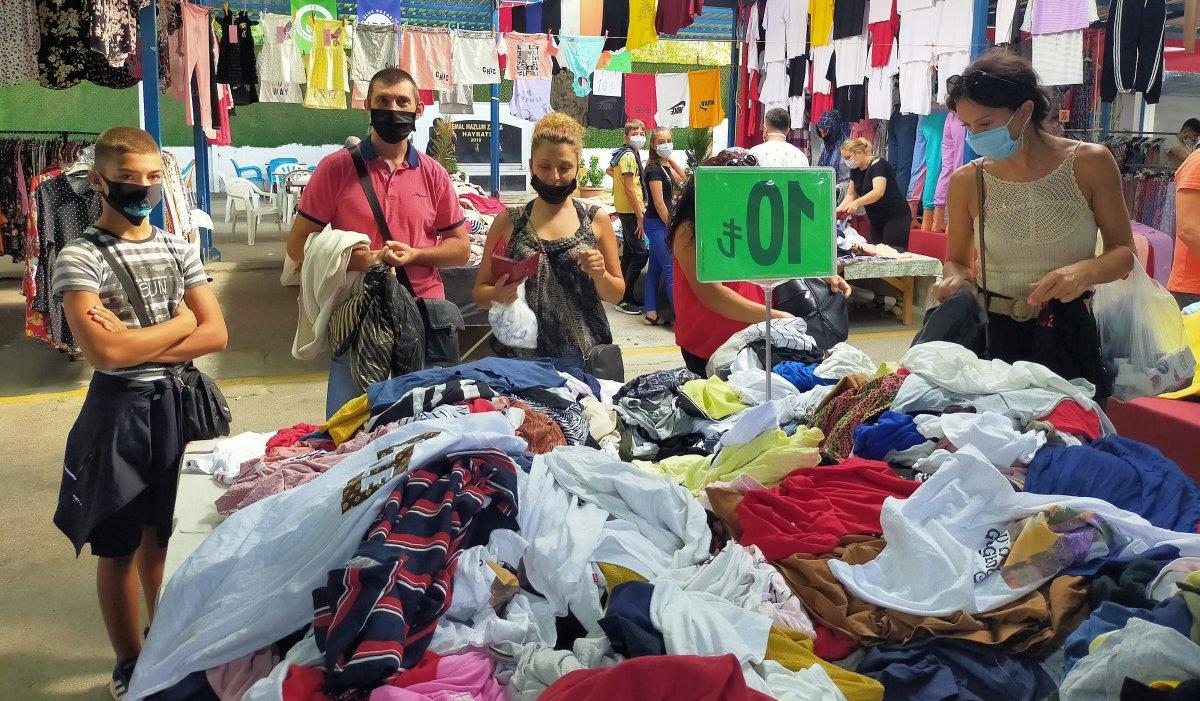Edirne de Bulgar turistlerin akın ettiği pazar kapatıldı #1