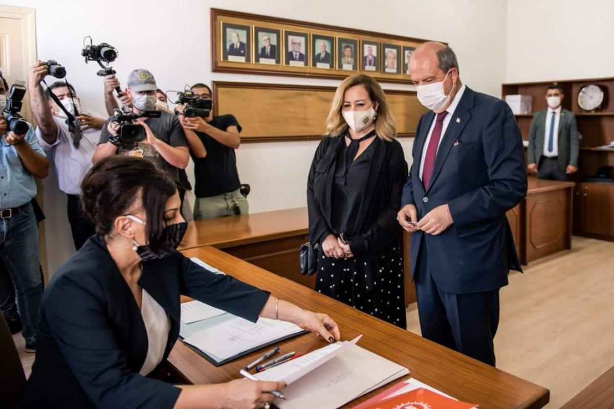 KKTC de Başbakan Ersin Tatar, cumhurbaşkanlığı adaylık başvurusunu yaptı #2
