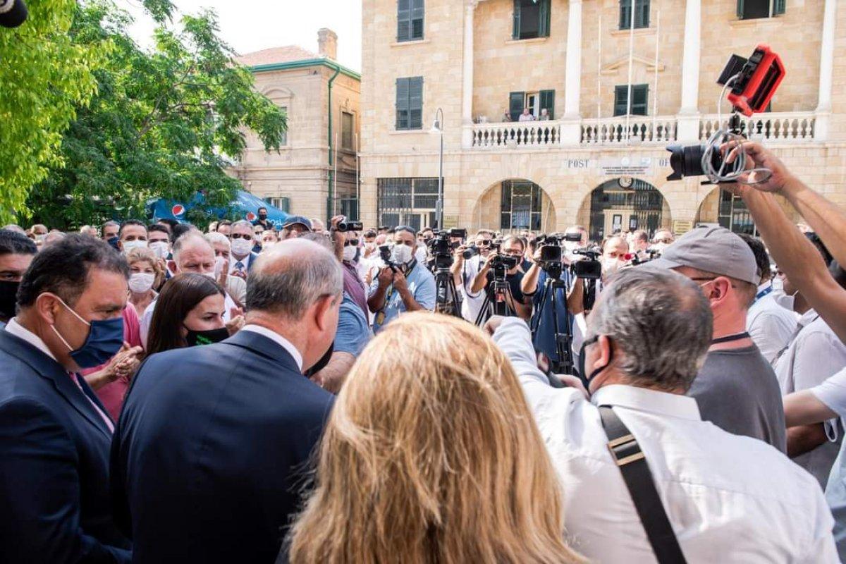 KKTC de Başbakan Ersin Tatar, cumhurbaşkanlığı adaylık başvurusunu yaptı #5