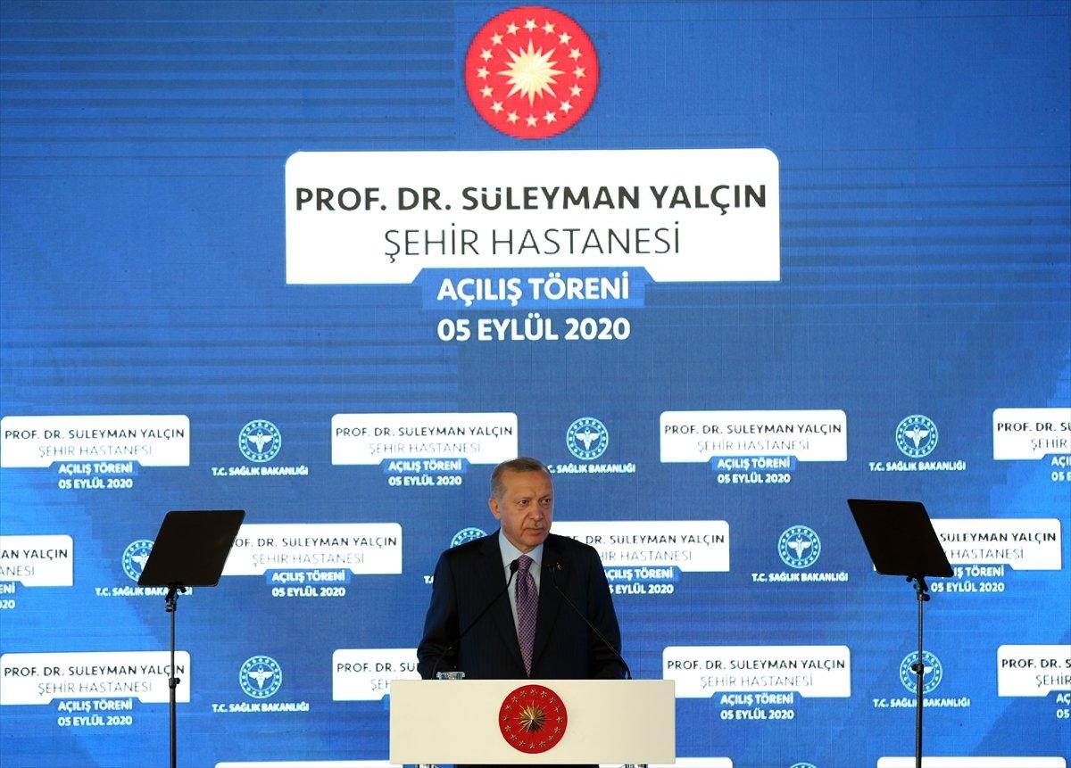 Cumhurbaşkanı Erdoğan, Göztepe Şehir Hastanesi ni hizmete açtı #1