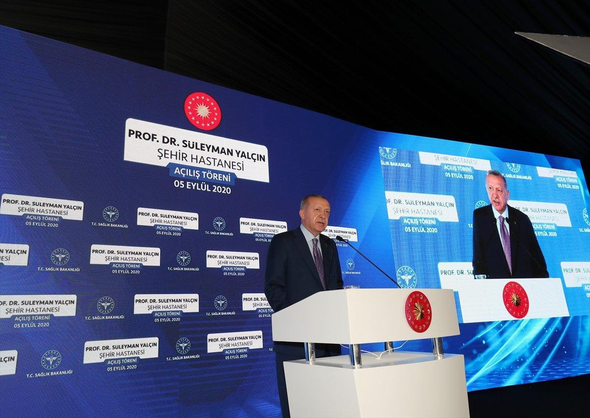 Cumhurbaşkanı Erdoğan, Göztepe Şehir Hastanesi ni hizmete açtı #3