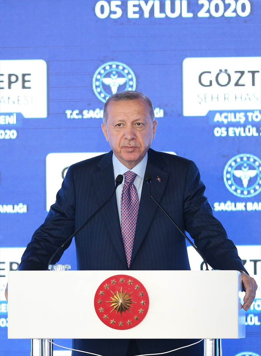 Cumhurbaşkanı Erdoğan, Göztepe Şehir Hastanesi ni hizmete açtı #7