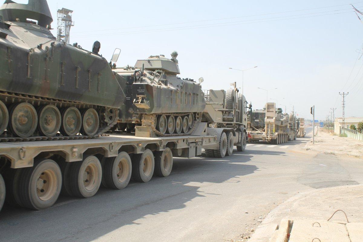 TSK, Suriye sınırındaki tankları Yunan sınırına sevk ediyor #3